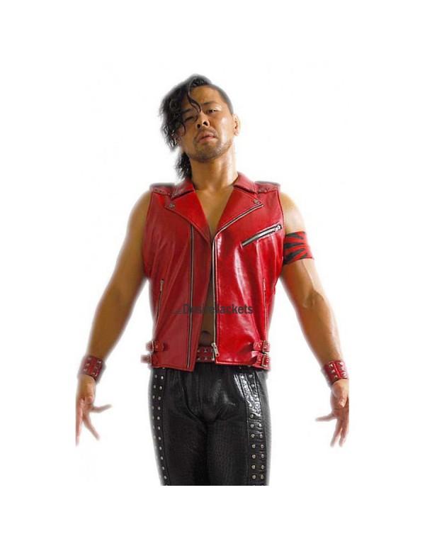 Wrestler Shinsuke Nakamura Vest